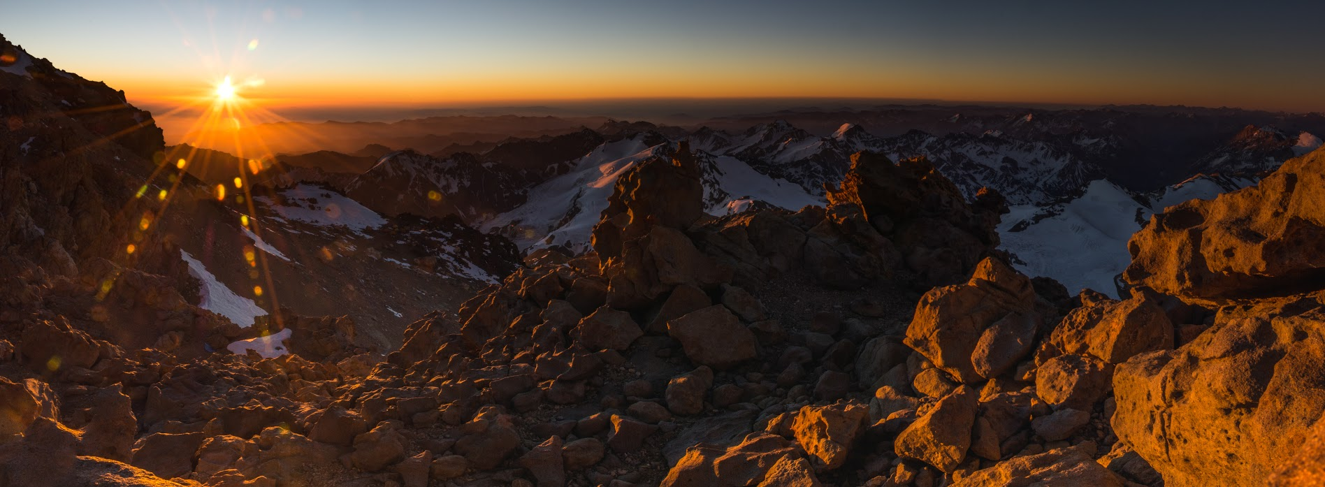 Volcán Tupungato 6.570M, Mendoza